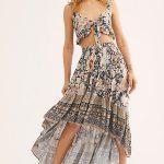 Amethyst Top & Skirt Set