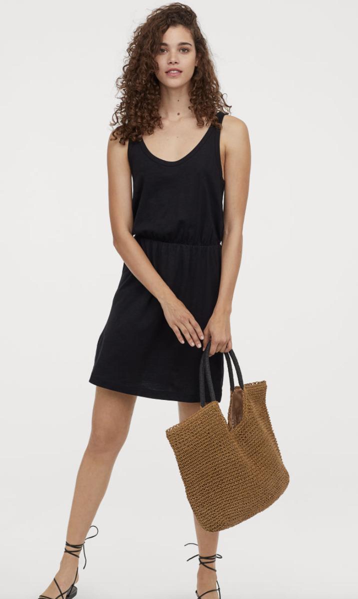 Modal-blend Jersey Dress