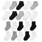 Wonder Nation Ankle Crew Combo Socks,