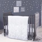 Sprinkle Stars 3 Piece Crib Bedding Set