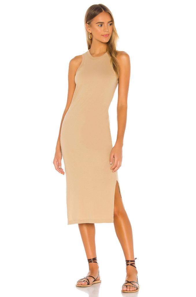 Supima Racerback Midi Dress