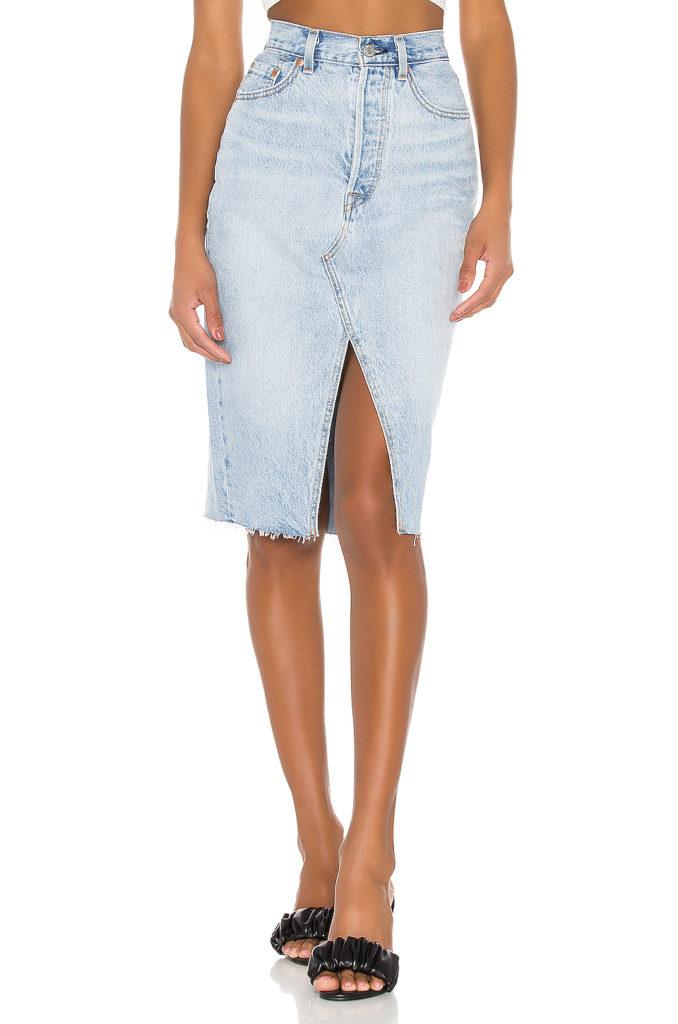 Deconstructed Midi Skirt