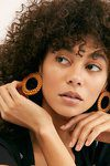 Straw Hoop Earring Set